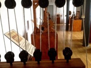 """Ein kleiner Einblick in die Ausstellung """"Leonardos Maschinen"""""""