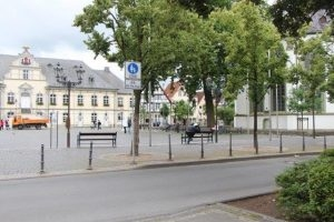 Der Marktplatz der Stadt Lippstadt