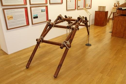 Da Vincis Bogenbrücke