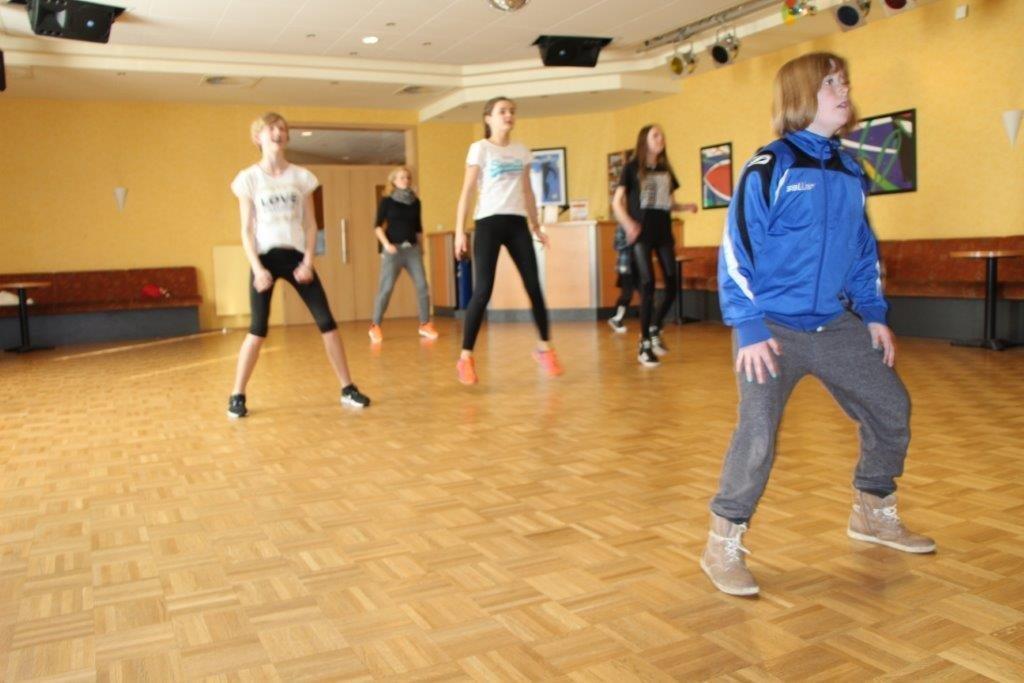 Kulturrucksack 2016 – Streetdance bei Neitzke