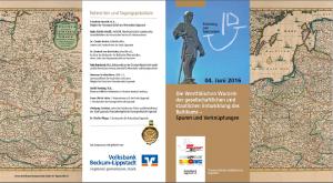 Titelseiten Flyer Baltikum Symposium