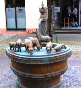 Kleiner Brunnen in der Woldemei
