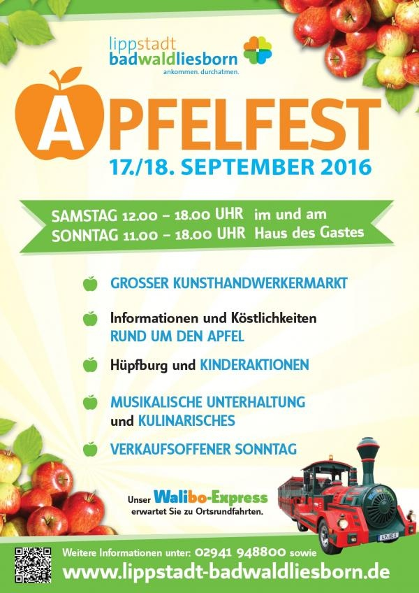 Apfelfest in Bad Waldliesborn