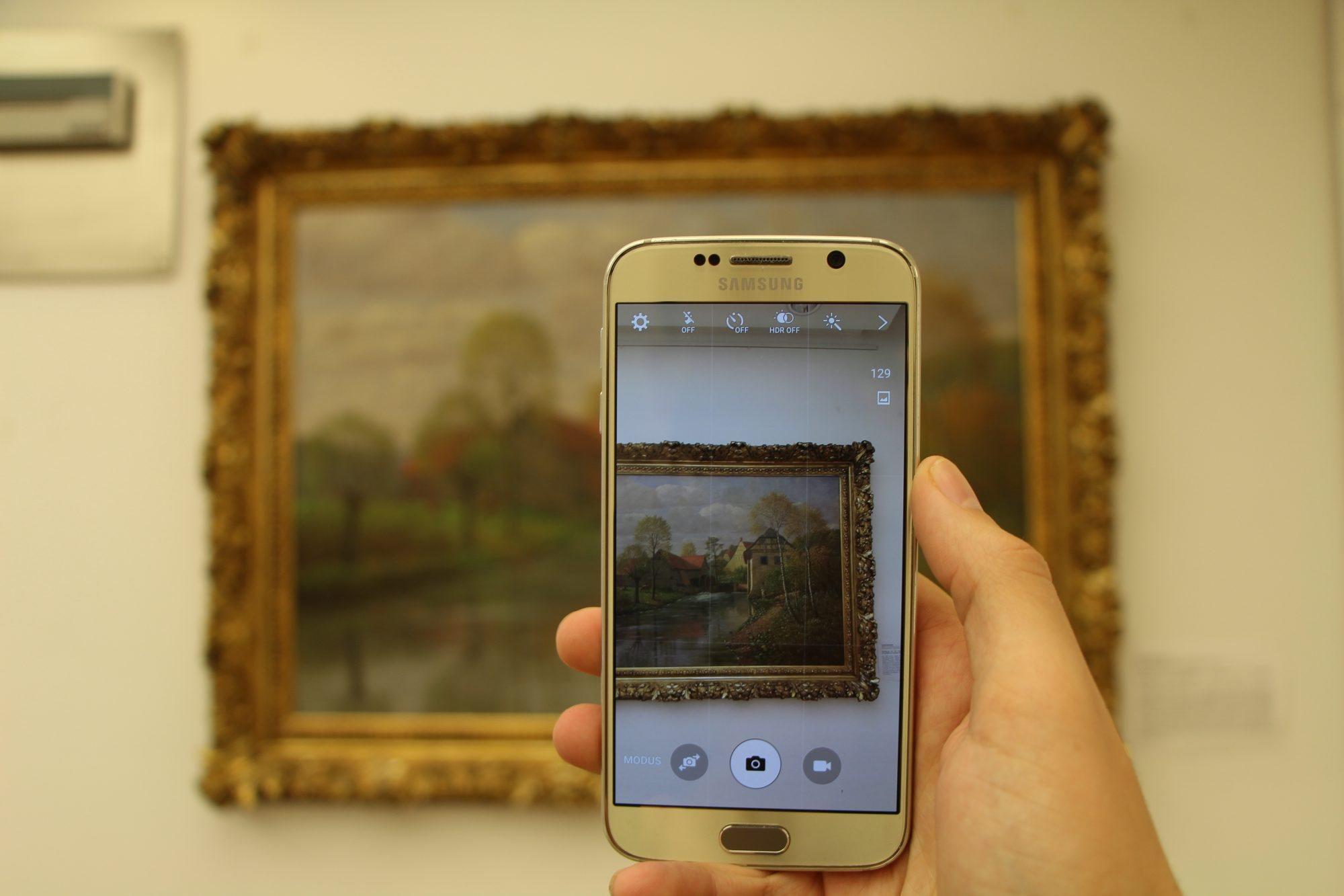 Da Vinci malt auf Instagram