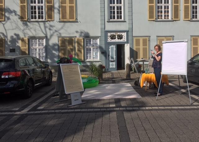 ParkingDay vor dem Stadtmuseum in Lippstadt