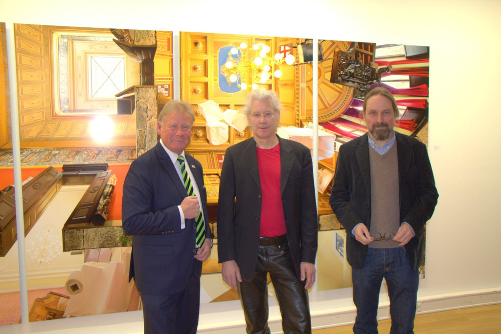Ausstellung in der Rathausgalerie – Michael H. Rohde