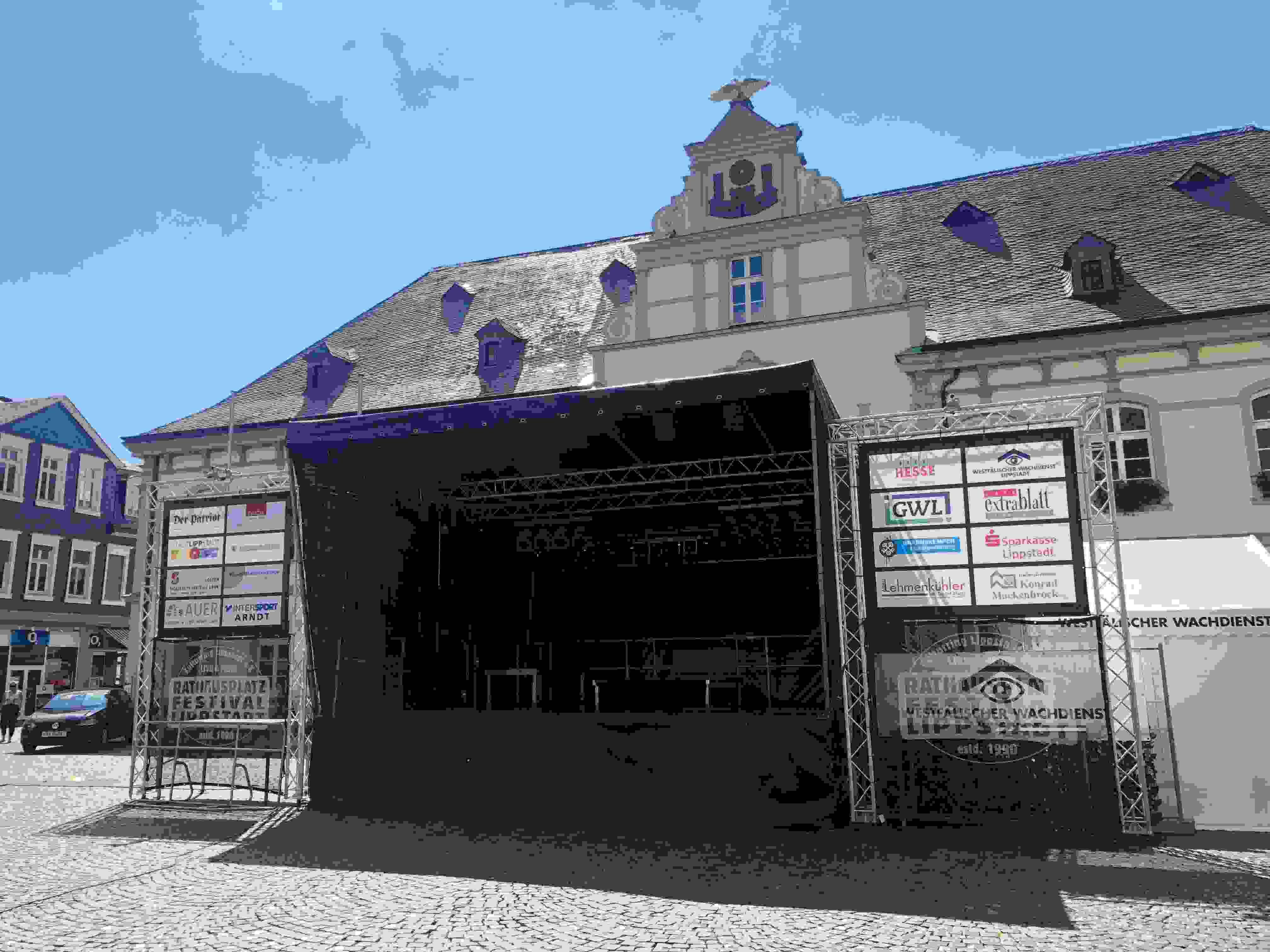 Heute beim 29. Rathausplatz-Festival
