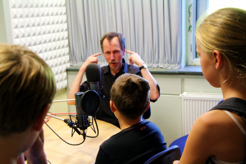 Hörspielproduktion – Im Tonstudio mit Conny Rupp