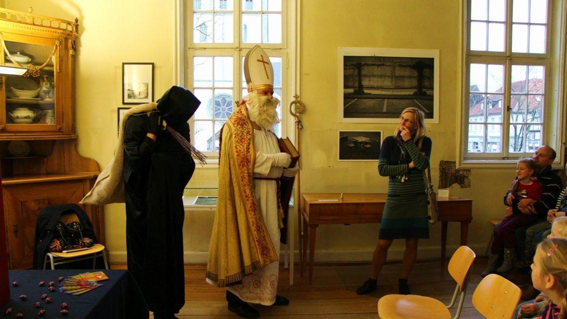Der Nikolaus im Museum
