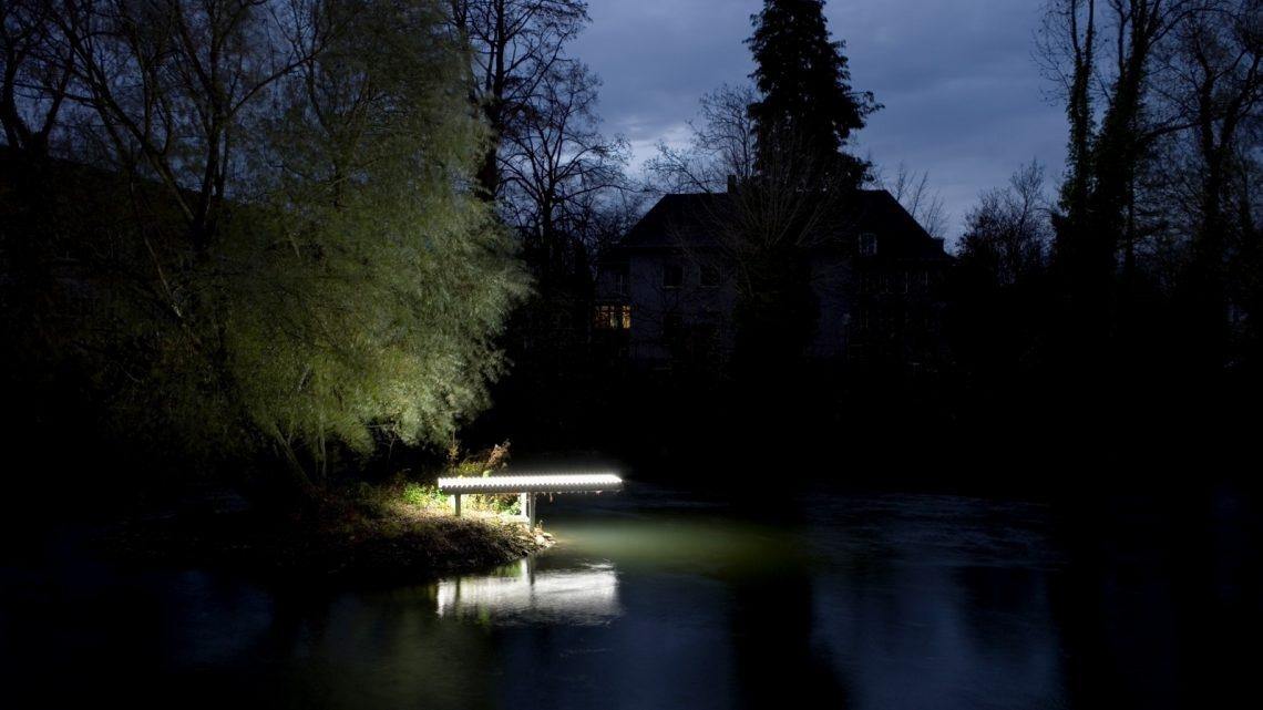 Durch die Nacht … entlang der Lippstädter Lichtpromenade