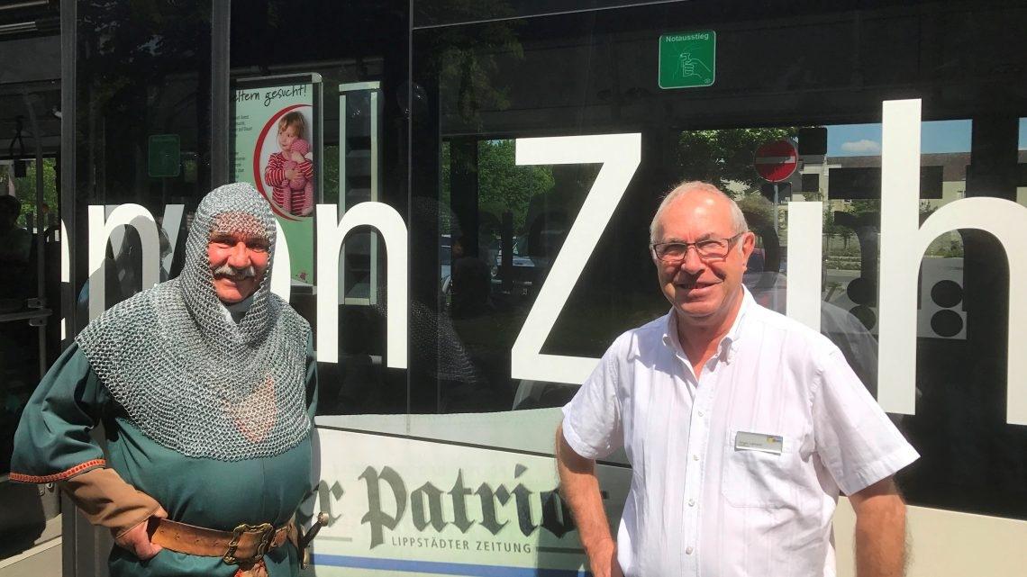"""Mit 300 PS und """"Graf Bernhard"""" durch die Stadt – Busführung am 28. April in Lippstadts Ortsteile"""
