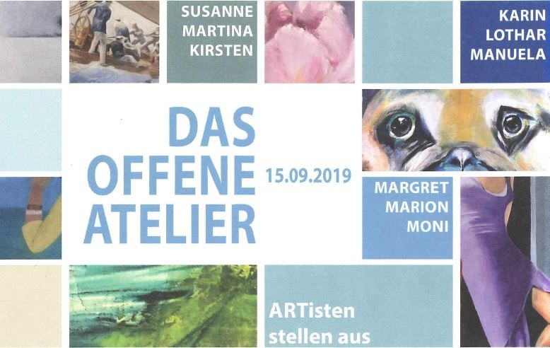 Das offene Atelier – Vernissage & Finissage –