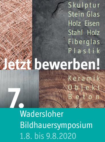 7. Bildhauersymposium der Gemeinde Wadersloh