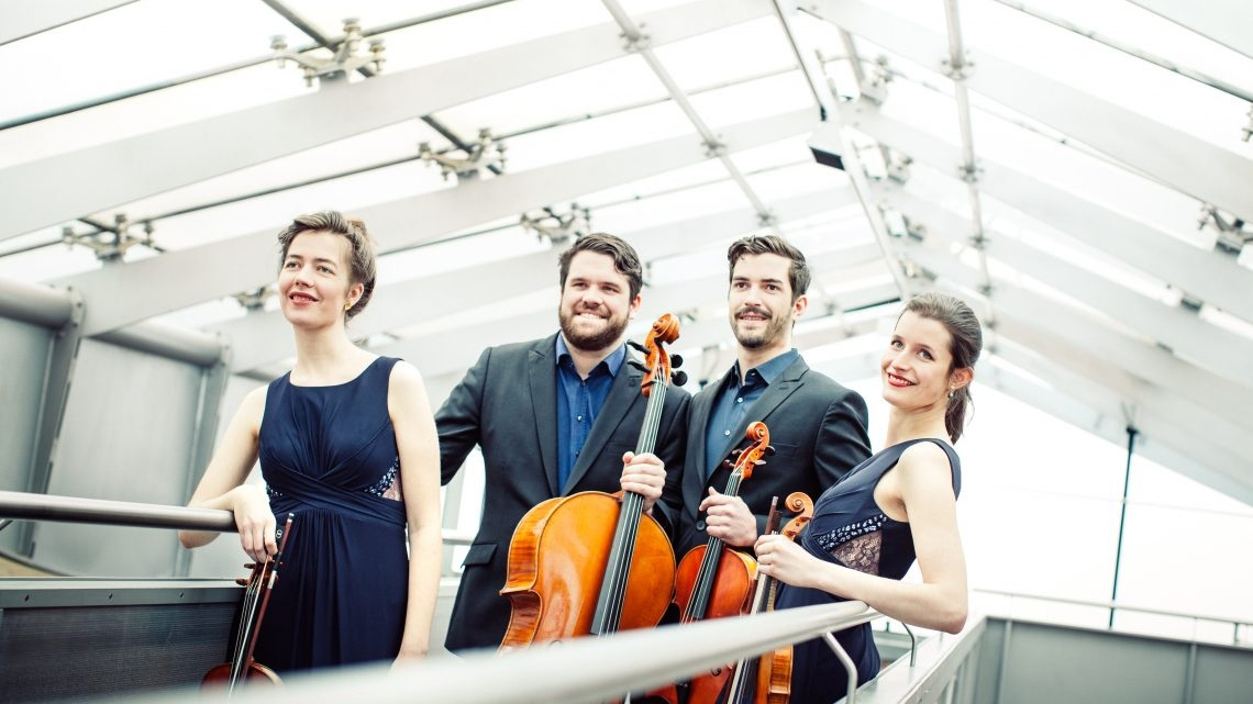 Streich-Quartett Aris in der Jakobi Kirche