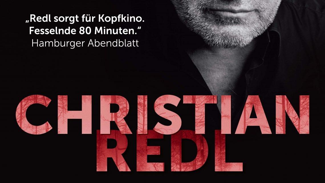 """Christian Redl: """"Wahre Verbrechen – Wahre Geschichten"""" Szenische Lesung"""