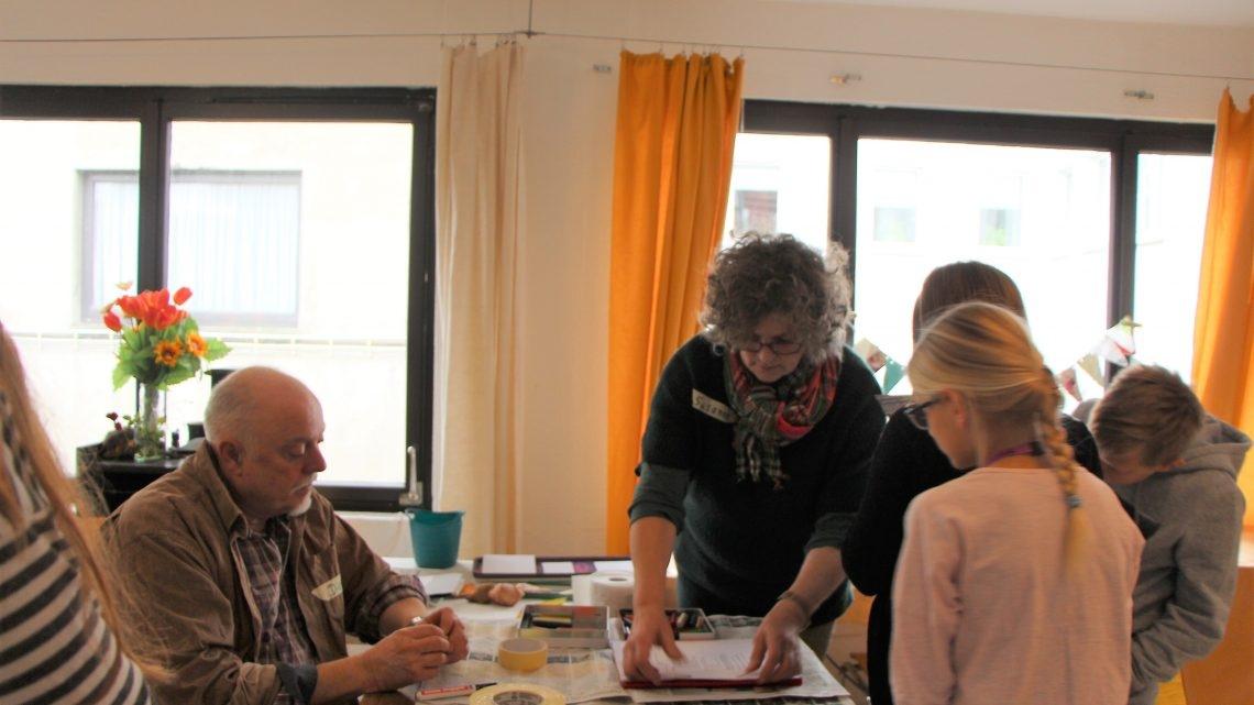 Encaustic Malerei – Kulturrucksack Aktion