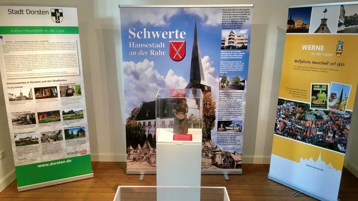 Die Westfälische Hanse – Ausstellung in der Thomas-Valentin-Stadtbücherei