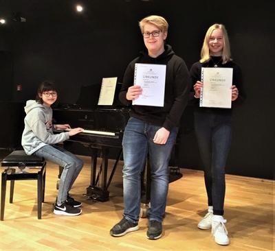 """""""Jugend musiziert"""" – Drei Lippstädter bei Regionalwettbewerb erfolgreich"""