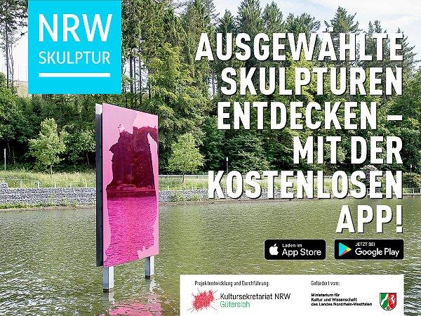 Der digitale Wegweiser  zu ausgewählten Skulpturen in NRW