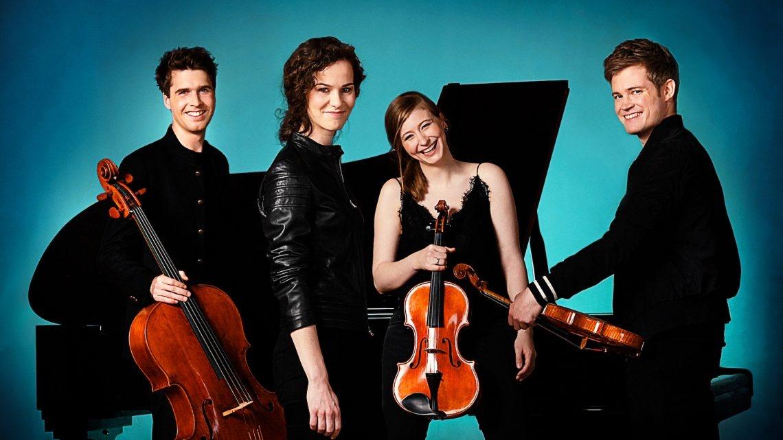 "Erstes Konzert des ""Notos Quartett"""
