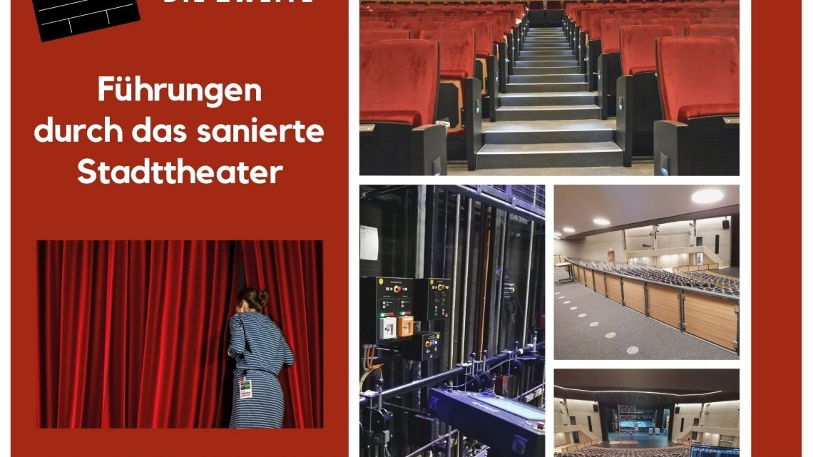 Klappe die Zweite! – Führungen durch das sanierte Stadttheater Lippstadt starten