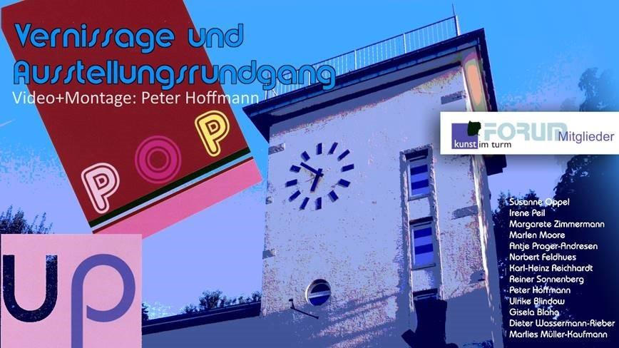 Kunst im Turm – POP up
