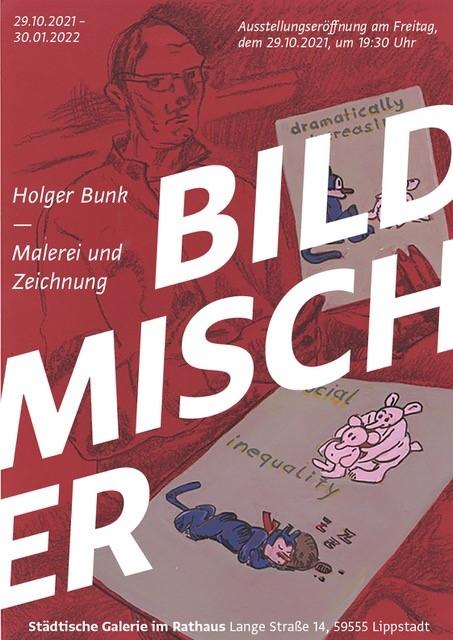 BILDMISCHER – Malerei und Zeichnung von Holger Bunk