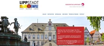 Tourismuskonzept Lippstadt und Bad Waldliesborn